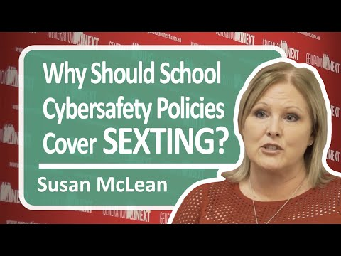 Why Should School Cybersafety Policies Cover Sexting?