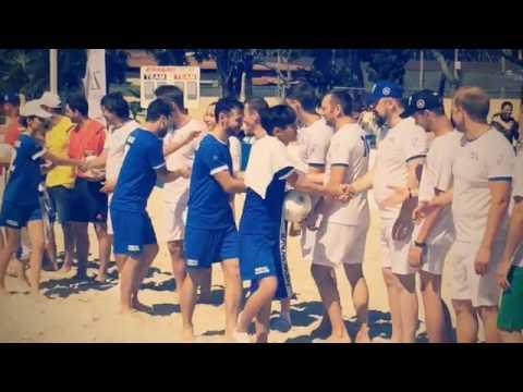 Международный турнир по пляжному футболу за кубок «Новой волны»