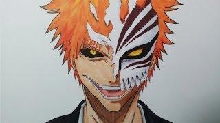 Drawing Ichigo Kurosaki - Hollow mask