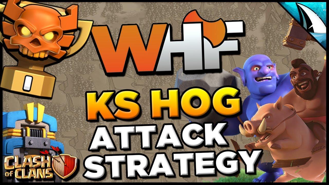 *HOG META* Kill Squad Hog Attack Strategy at TH 12 | Clash ...