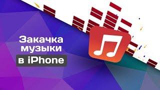 Как скинуть музыку в iTunes ? Как синхронизировать через WI-FI ? Как пользоваться iTunes ?