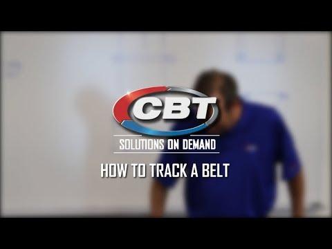 How To Track a Belt | CBT Company