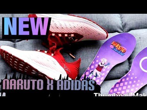 Naruto x Adidas: Erste Bilder der Sneaker Kollabo