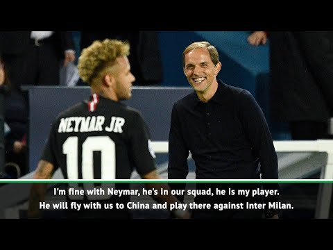Tuchel Confident Neymar Will Join PSG In China For Inter Milan Match