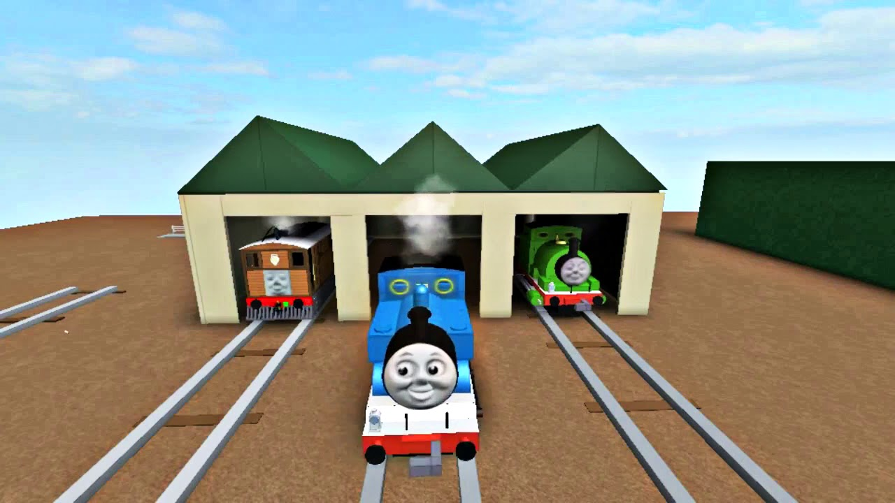 Thomas and Friends Roblox Remastered : Thomas Comes to Breakfast