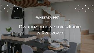 Dwupoziomowe mieszkanie o powierzchni 75 mkw #projektwnętrz