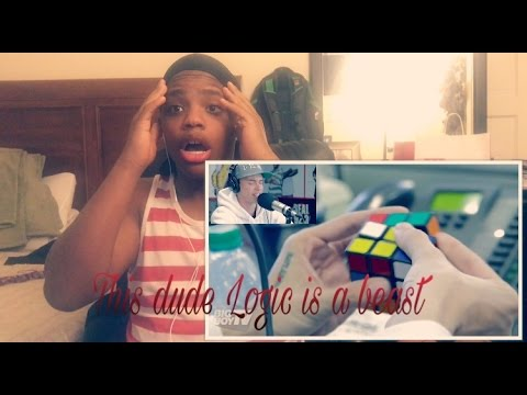Download Reaction Video Reacting To (Rapper Logic Solves A Rubiks Cube During)(By BigBoyTv)