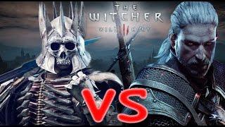 Прохождение Ведьмак 3,  На Ощупь, Бой с Воином Дикой Охоты