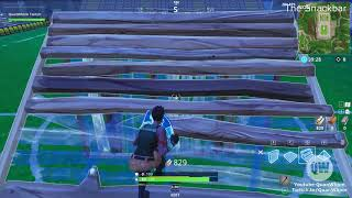 How to build the best single ramp push on Fortnite! The Snackbar!