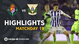 Highlights Real Valladolid vs CD Leganes (2-2)