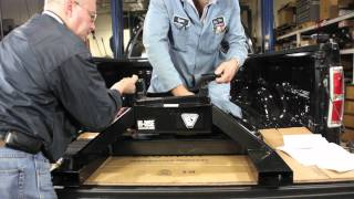 Installation Of An 18k Hi-rise Gooseneck To 5th Wheel Conversion Hitch - Bulldog® 9481