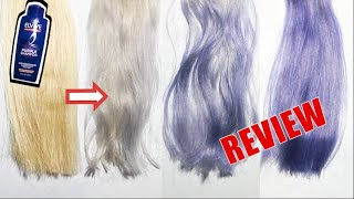 L'OREAL ELVIVE COLOR VIBRANCY PURPLE SHAMPOO BEFORE & AFTER REVIEW