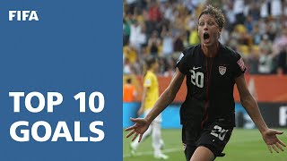 Top 10 Goals: FIFA Women