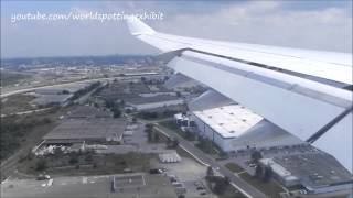 Stunning Lufthansa A340 Approach & Landing at Toronto Pearson International Airport (YYZ/CYYZ)