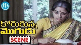 Korukunna Mogudu Movie Scenes - Shoban Babu's Friend Meets With An Accident || Jayasudha
