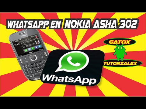 WHATSAPP 2016 EN NOKIA ASHA ALL VERSIONS 302- ETC.