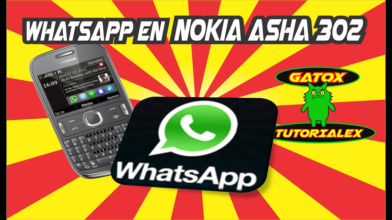 whatsapp for nokia asha 302 download and install
