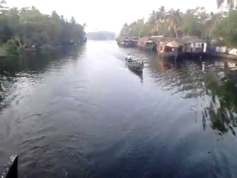 Alleppey or Alappuzha (ആലപ്പുഴ) Houseboat Travel Kerala Part-2