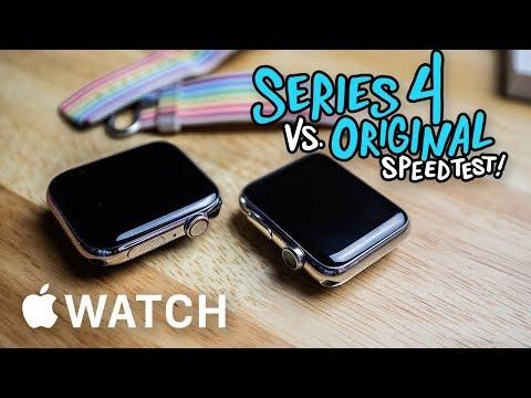 Apple Watch Series 4 vs. Original Apple...