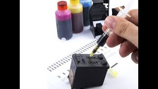 HOW TO REFILL INK OF CANON PRINTER CARTRIDGE PG-740 PG 740 PG740 by Jack Ofall