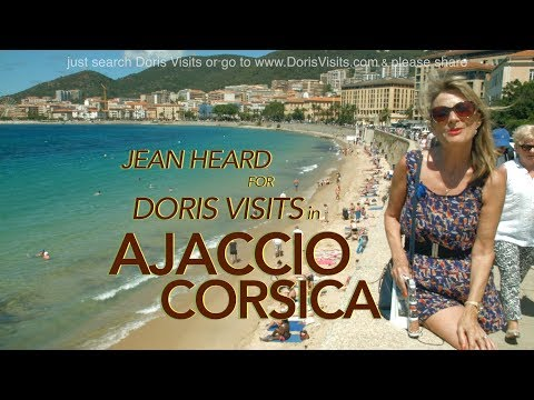 Corsica. Ajaccio City Guide. Jean's video report for Cruise Doris Visits
