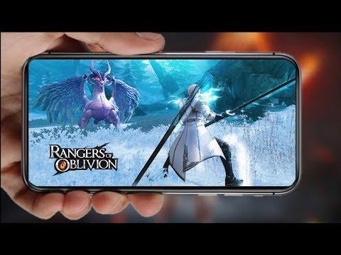 Rangers of Oblivion: MMO-RPG de caça aos monstros!!! Melhor estilo Monster Hunter mobile!!! #Zigindica 38 - Omega Play