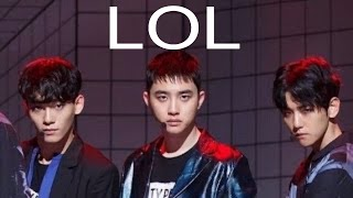 EXO Lucky One Funny Dance