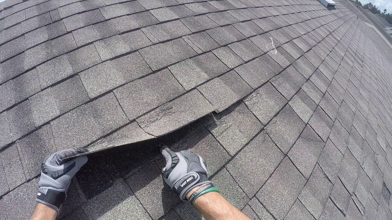 Kelly Roofing Hidden Wind Damage On Shingle Roofs Youtube