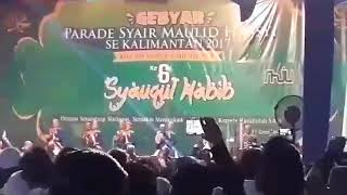 Video ASSYFA QOLBY palangkaraya juara 3 Gebyar parade syair maulid sekalimantan MILAD KE-6 SYAHAB download MP3, 3GP, MP4, WEBM, AVI, FLV Maret 2018