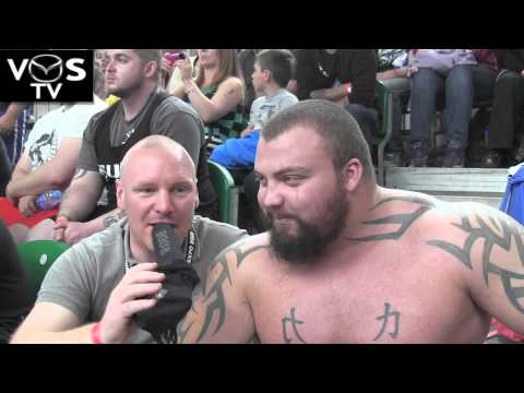 VOS TV - Eddie Hall - Interview at The BodyPower Expo 2013