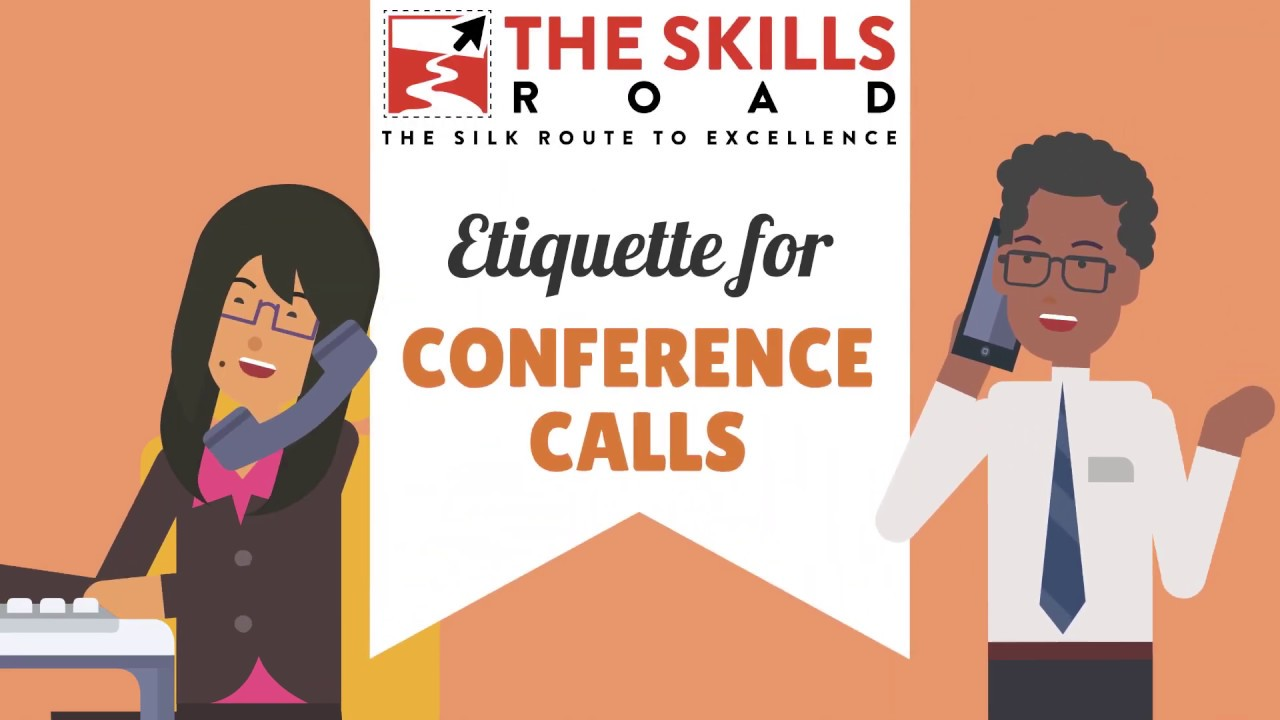 Work From Home Conference Call Etiquette by The Skills Road during the Coronavirus Pandemic
