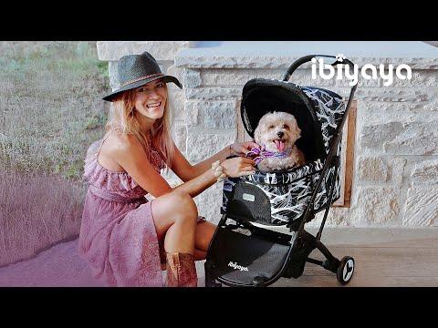 IBIYAYA依比呀呀-FS1670-B小速攜寵物推車-形象影片(九顆蘋果高的推車) / Speedy Fold Pet Buggy Video