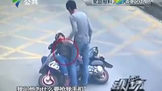 """""""فيديو"""" شاهد انتقام سائق شاحنة من لص سرق هاتفه على طريقة الكونغ فو"""
