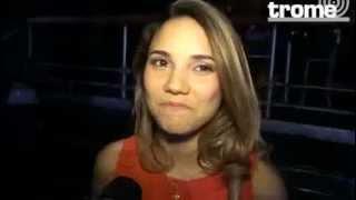 Maria Grazia Gamarra es entrevistada por el Diario TROME