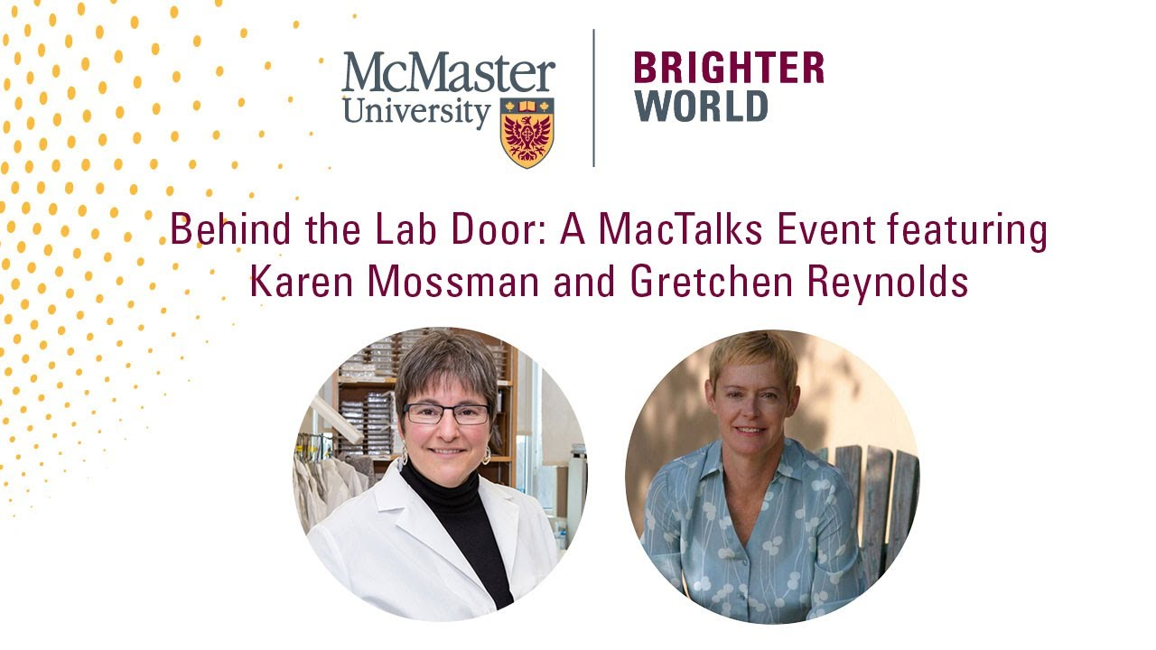 Image for Behind the Lab Door: A MacTalks Event featuring Karen Mossman and Gretchen Reynolds webinar