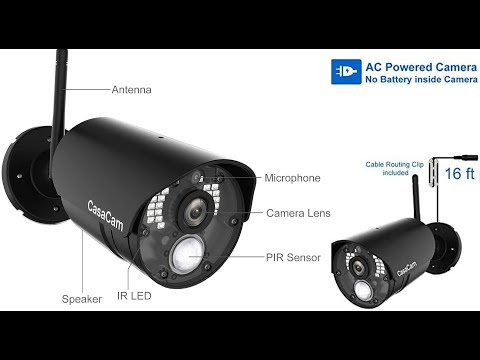 Best CasaCam VS802 Wireless Security Camera System 2021