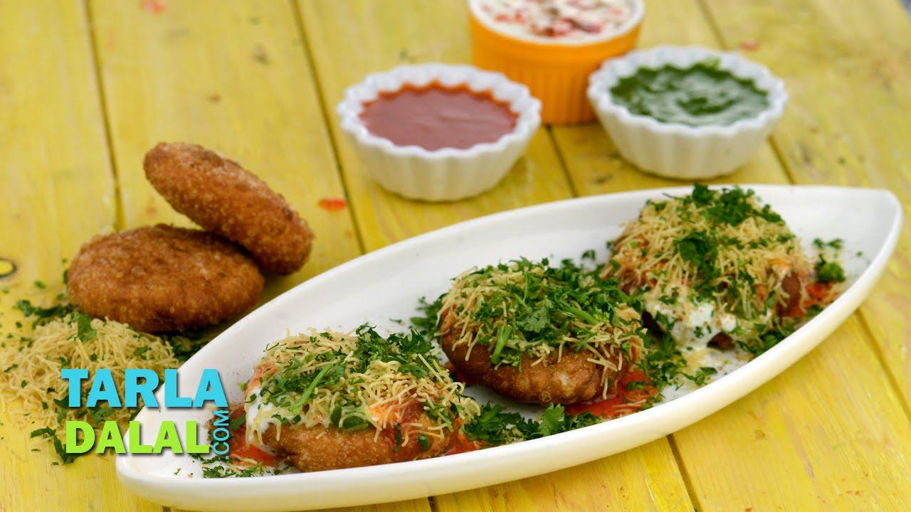 Khasta Kachori Chaat By Tarla Dalal Diwali Party Recipe