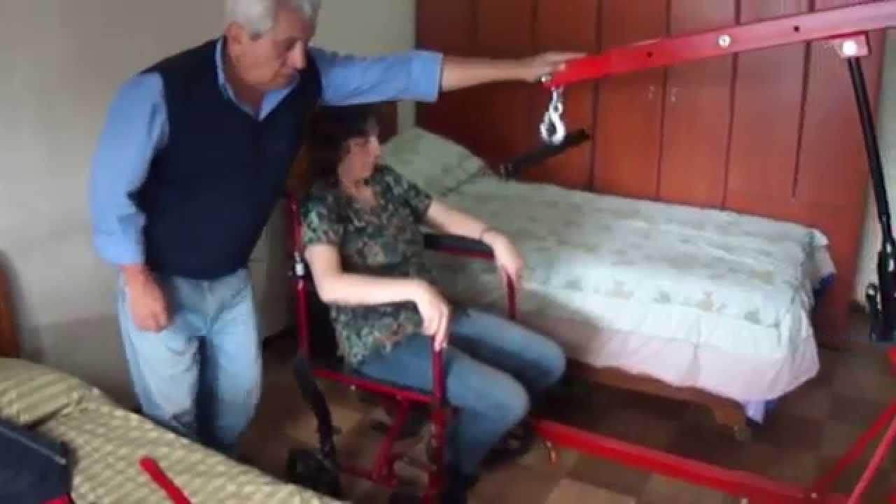 Grua Para Discapacitados Youtube