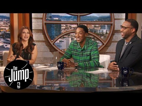 Scottie Pippen gives Tracy McGrady hard time about Tim Duncan and Grant Hill | The Jump | ESPN