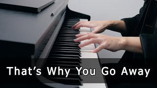 That's Why You Go Away - Michael Learns To Rock (Piano Cover by Riyandi Kusuma) видео