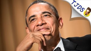 President Obama - Latte Salute