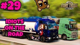 Euro Truck Simulator 2 Multiplayer: IDIOTS on the Road | Random & Funny Moments | #29