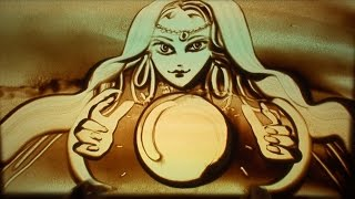 Sand Art by Ilana Yahav - Miracles don't always happen – take charge! - SandFantasy