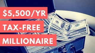 $5,500 A Year To Become A Millionaire 💰 Roth IRA Strategy