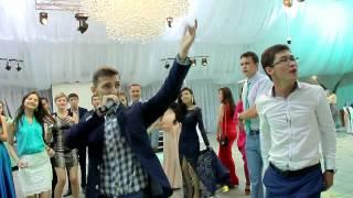 Свадьба в Усть-Каменогорске. танец друзей