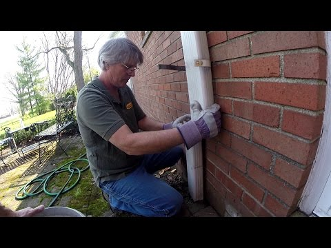 Happy Birthday  How To Clean the French Drain, Downspout Drain Line