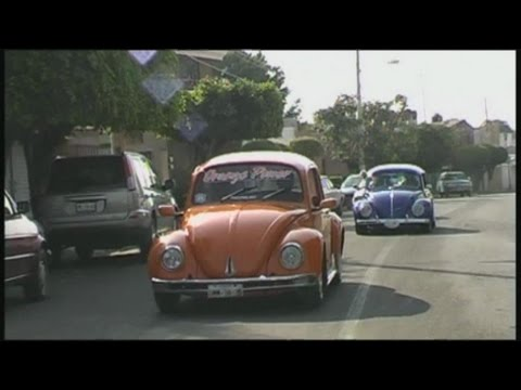 VW Beetle Taxi in Mexico