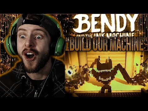 "Vapor Reacts #759 | BATIM SONG MINECRAFT ANIMATION ""Build Our Machine"" by Ekrcoaster REACTION!!"