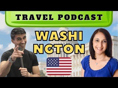 🇺🇸 PODCAST Travel to Washington, DC   Visit the US capital #24