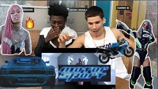 Nicki vs Cardi???? - MotorSport (REACTION) * Reupload